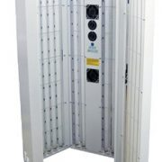 Full body cabinet containing Philips TL01 tubes