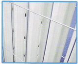 Cabinet wire safety guards